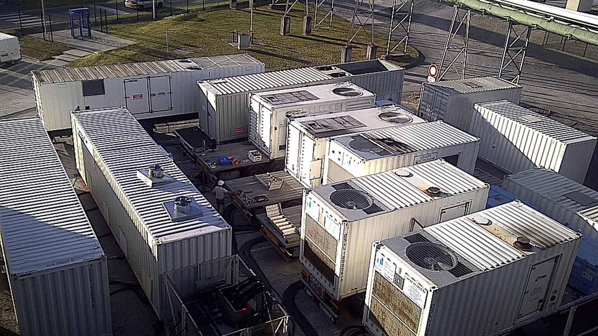 Alimentation électrique d'un site industriel