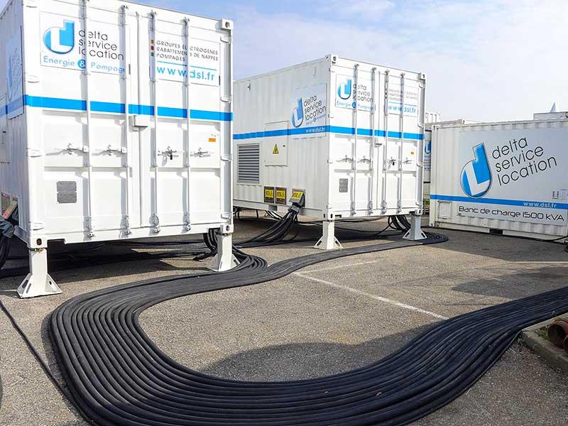 2 transformateurs 3150 kVA câblés