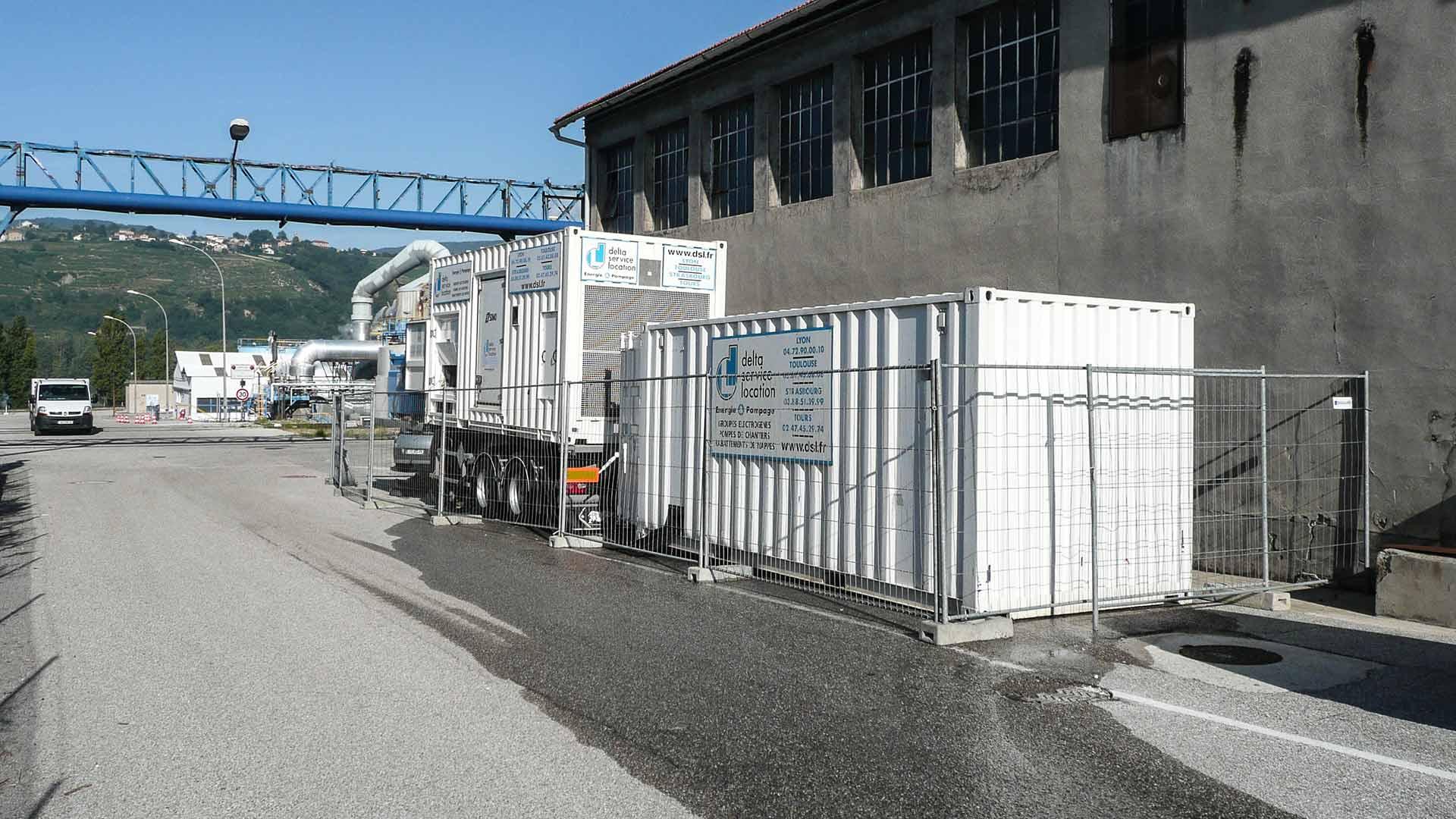 Secours électrique d'un site industriel