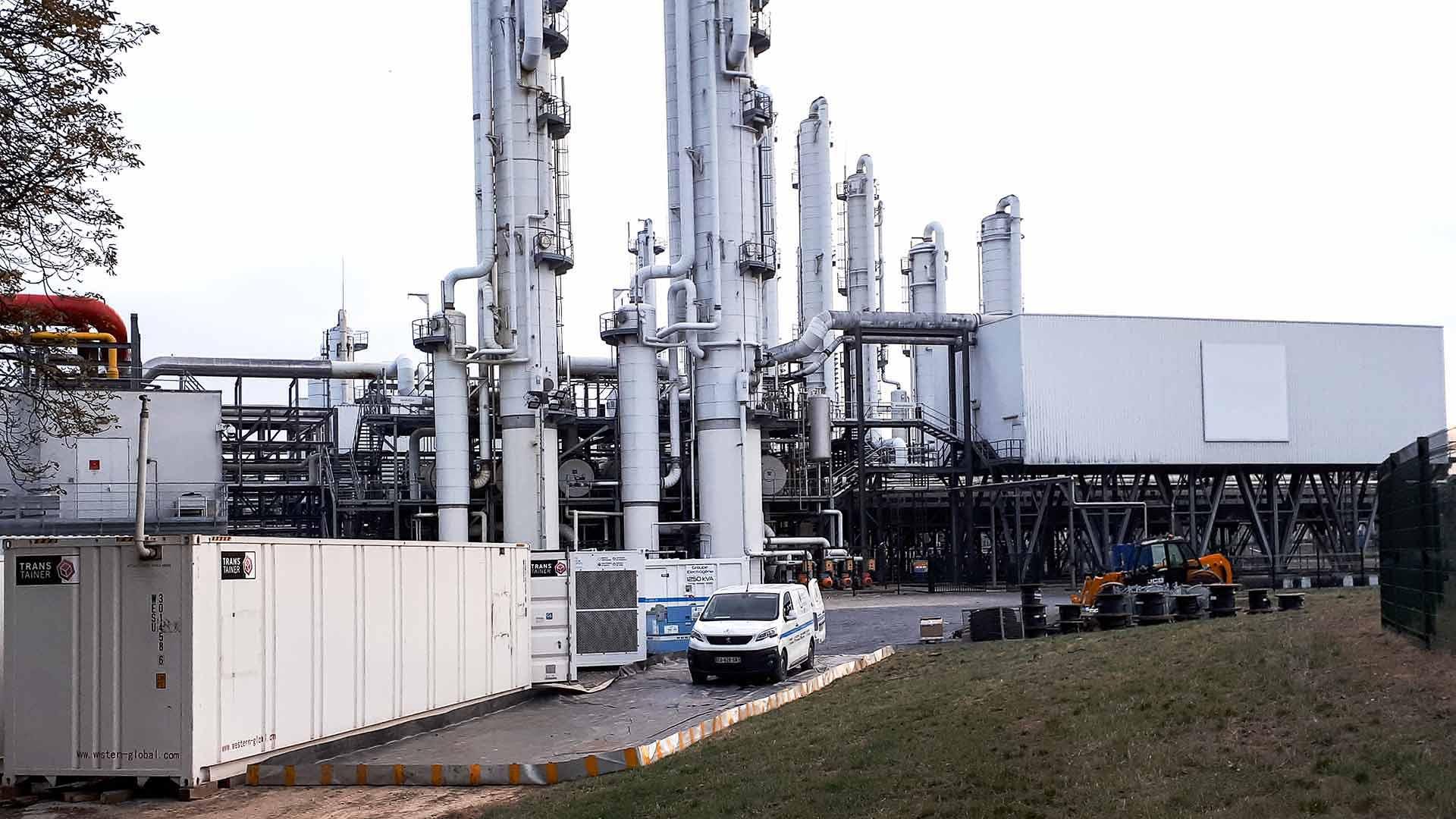Centrale d'énergie 12 Mégawatt